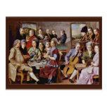 St. Quintinus By Pontormo Jacopo (Best Quality) Postcard