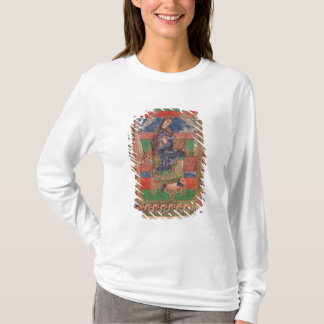 St. Radegund on a throne T-Shirt