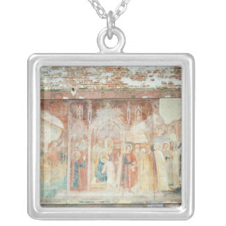 St Ranieri in the Holy Land, mid 14th century Silver Plated Necklace