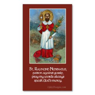St. Raymond Nonnatus Prayer Magnets (25 pack)