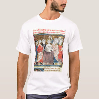 St. Remigius, Bishop of Rheims  baptising T-Shirt