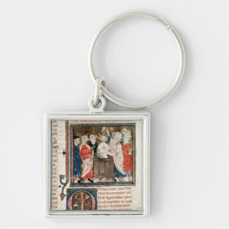 St. Remigius  Bishop of Rheims Key Ring