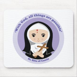 St. Rita of Cascia Mouse Pad