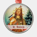 St. Rocco - San Rocco - St. Roch Template Christmas Ornament