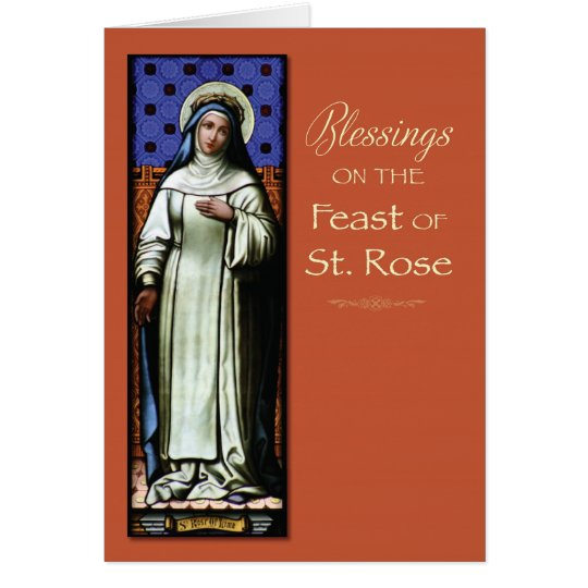 St. Rose of Lima Patron Saint Feast Day