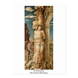 St. Sebastian By Andrea Mantegna Postcard
