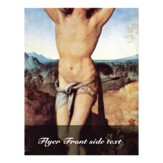 St. Sebastian By Perugino Pietro (Best Quality) Flyers