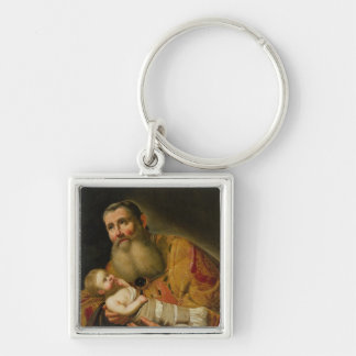 St. Simeon Presenting the Infant Christ Key Ring