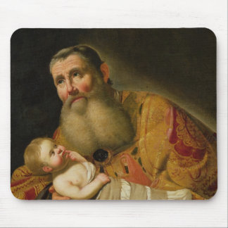 St. Simeon Presenting the Infant Christ Mouse Mat