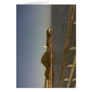 St. Simon's Island Lighthouse Greeting Card