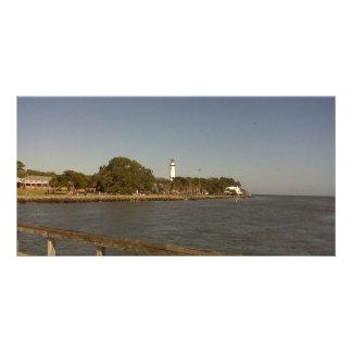St. Simon's Island Lighthouse Photo Greeting Card