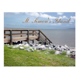 St. Simon's Island Postcard