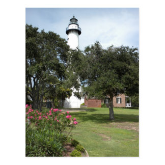 St. Simon's Lighthouse Postcard