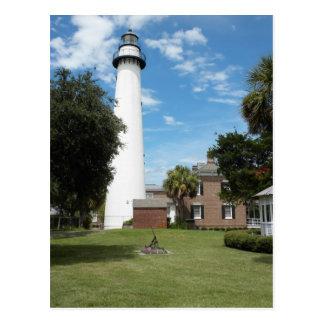 St. Simon's Lighthouse Postcards