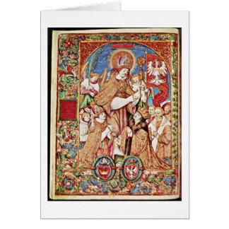 St.Stanislaus And King By Stanislaw Samostrzelnik Card