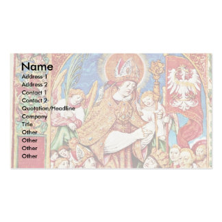 St. Stanislaus Bishop And King Sigismund Tomicki Business Cards