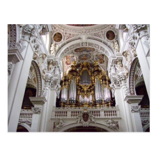 St. Stephan's Cathedral Passau Germany Postcard