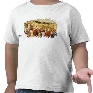 St. Stephen Preaching T-shirts