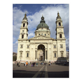 St. Stephens Basilica Budapest Hungary Postcard