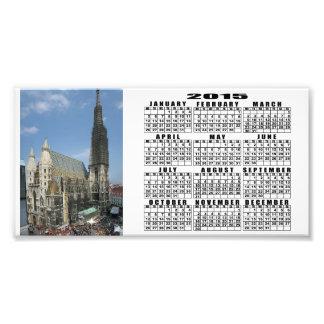 St. Stephen's Cathedral, Vienna Austria Photo Print