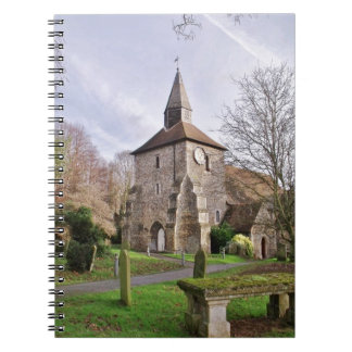 St Stephens Church In January Notebook