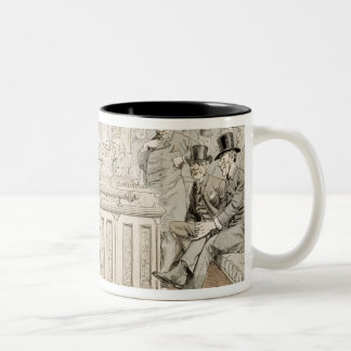 'St. Stephen's Review Presentation Cartoon' Two-Tone Coffee Mug