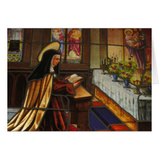 St. Teresa of Avila (2) Card