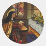St. Teresa of Avila (2) Round Sticker