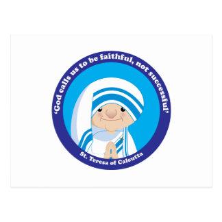 St. Teresa of Calcutta Postcard