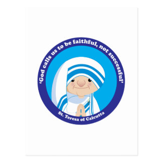 St. Teresa of Calcutta Postcard