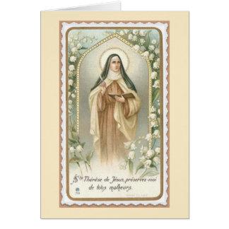 St. Teresa of Jesus Avila Card