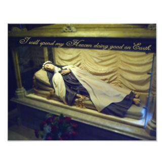 ST THERESE INCORRUPT. ART PHOTO