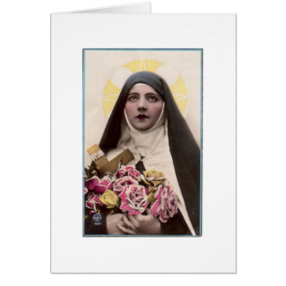 St. Therese the Little Flower Card