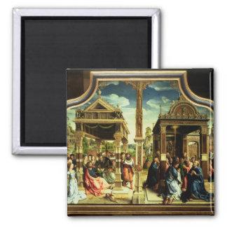 St. Thomas and St. Matthew Altarpiece Magnet