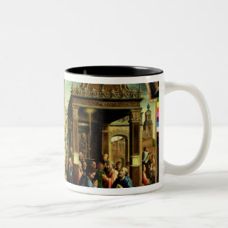 St. Thomas and St. Matthew Altarpiece Two-Tone Coffee Mug