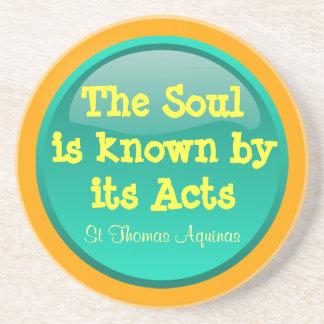 St Thomas Aquinas coasters