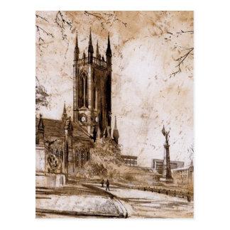 St Thomas Church, Newcastle upon Tyne  Card Postcard
