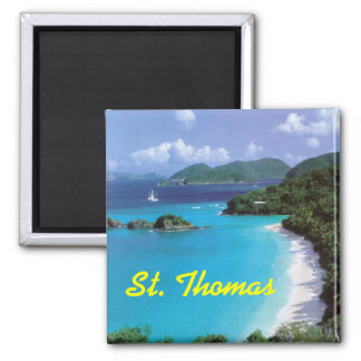 St. Thomas frudge magnet