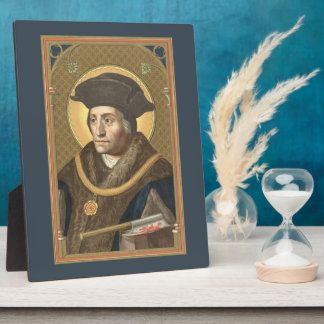 "St. Thomas More (SAU 026) Plaque #1 8""x10"""