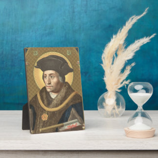 "St. Thomas More (SAU 026) Plaque #2 5""x7"""
