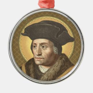 St. Thomas More (SAU 026) Premium Circular Christmas Ornament