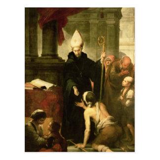 St. Thomas of Villanueva Distributing Alms, 1678 Postcard