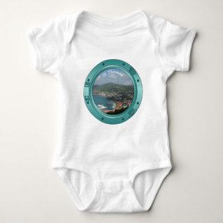 St Thomas Porthole Baby Bodysuit
