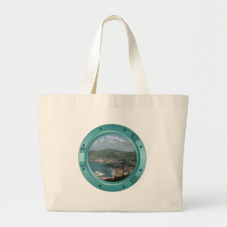 St Thomas Porthole Large Tote Bag
