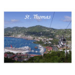 St Thomas View Post Cards
