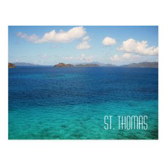 St. Thomas Virgin Islands Postcard