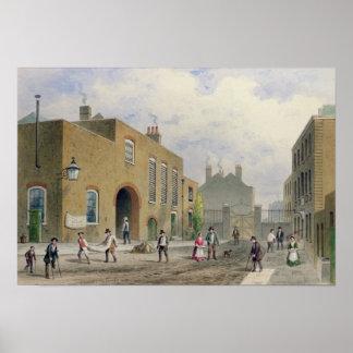 St. Thomas's Hospital, Southwark, London Poster