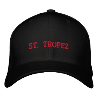 ST TROPEZ EMBROIDERED HATS