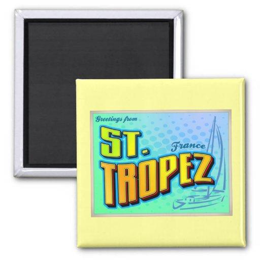 ST. TROPEZ FRIDGE MAGNETS