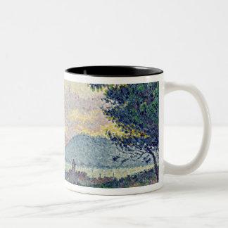 St. Tropez, Pinewood, 1896 Two-Tone Coffee Mug